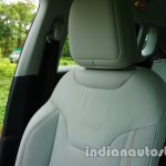 Jeep Compass driver seat review