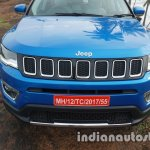 Jeep Compass front fascia review