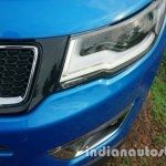 Jeep Compass grille slot review