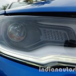 Jeep Compass projector headlight with LED review