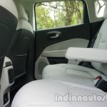 Jeep Compass rear seat review