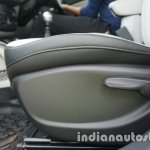 Jeep Compass seat height adjustment review
