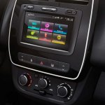 Latin American Renault Kwid centre console