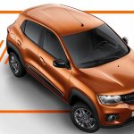 Latin American Renault Kwid front three quarters right side