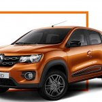 Latin American Renault Kwid front three quarters