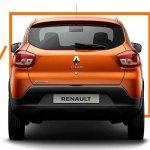 Latin American Renault Kwid rear