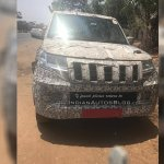 Mahindra TUV500 (TUV300 XL) front spied by IAB Reader
