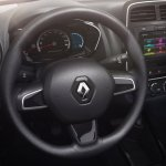 Renault Kwid Brazilian spec steering wheel and instrument cluster