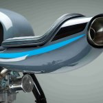 Royal Enfield Continental GT studio exhaust