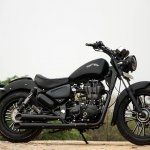 Royal Enfield Thunderbird 500 Black Magic by Eimor Customs side right