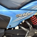 TVS Victor review still badging