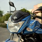 TVS Victor review still headlamp