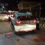 Tata Nexon rear spied at night
