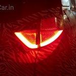 Tata Nexon taillamp spied at night