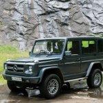 Transform a Force Gurkha into a Mercedes G-Class front three quarter