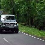 Transform a Force Gurkha into a Mercedes G-Class on road