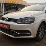 VW Polo TSI Bluemotion front spied testing in India