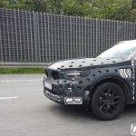Volvo XC40 in motion spy shot