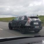Volvo XC40 rear three quarters spy shot