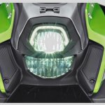 Yamaha X-Ride 125 green headlamp