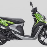 Yamaha X-Ride 125 green side