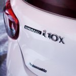 2017 Hyundai Grand i10X (facelift) tailgate badge