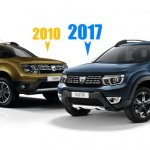 2018 Dacia Duster (2018 Renault Duster) front three quarters rendering