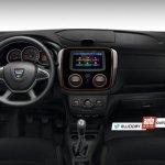 2018 Dacia Duster (2018 Renault Duster) interior dashboard rendering