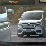 2018 Honda StepWGN (facelift) front three quarters unofficial image