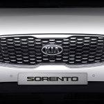 2018 Kia Sorento (facelift) grille