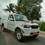 2018 Mahindra Pik-Up (Scorpio Getaway) single cab spotted front quarter