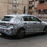 2018 Mercedes A-Class rear testing in Dubai