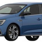 2018 Renault Megane GT Patent Image Front Three Quarters