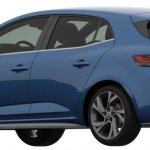 2018 Renault Megane GT Patent Image Rear Three Quarters