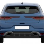 2018 Renault Megane GT Patent Image Rear View