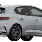 2018 Renault Megane RS Patent Image Right Rear Three Quarters