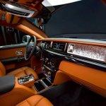 2018 Rolls-Royce Phantom dashboard