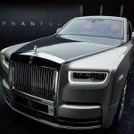 2018 Rolls-Royce Phantom exterior