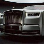 2018 Rolls-Royce Phantom front fascia