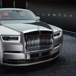 2018 Rolls-Royce Phantom front studio image
