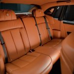 2018 Rolls-Royce Phantom rear seats