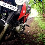 Bajaj Pulsar 150 B3.1 by Beast Motors foglamp