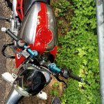 Bajaj Pulsar 150 B3.1 by Beast Motors fuel tank top