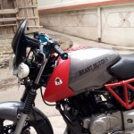 Bajaj Pulsar 150 B3.1 by Beast Motors fuel tank