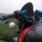 Bajaj Pulsar 150 B3.1 by Beast Motors handlebar side view