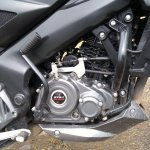 Bajaj Pulsar NS 160 Engine Closeup