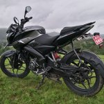 Bajaj Pulsar NS 160 Rear Quarter