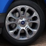 Brazilian-spec 2018 Ford EcoSport (facelift) alloy wheel