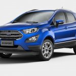 Brazilian-spec 2018 Ford EcoSport (facelift) front three quarters