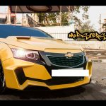 Chevrolet Cruze Project 'Yellow Transformer' front quarter